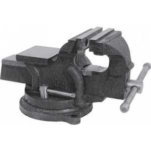 Тиски станочные поворотные FIT 150мм усиленные (59729)