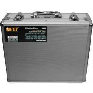 Ящик для инструментов FIT 34х28х12см алюминиевый (65610) ящик для инструментов fit 65610