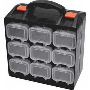 Ящик для крепежа FIT двухсекционный (съемные ячейки) 34х28.5х14.5см (65658)