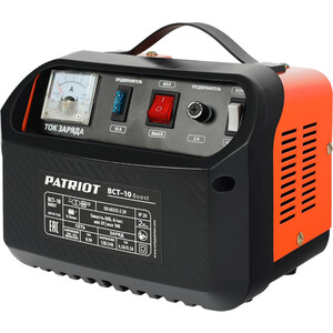 Зарядное устройство PATRIOT BCT-10 Boost автомобильное зарядное устройство patriot bct 18 boost