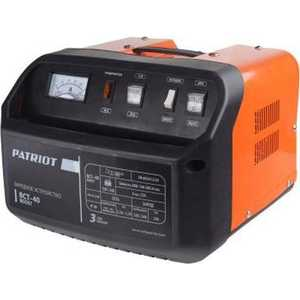 Зарядное устройство PATRIOT BCT-40 Boost устройство пуско зарядное patriot bct 50 boost 650301550