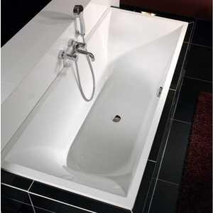 Ванна квариловая Villeroy Boch La Belle 180x80 см белая с ножками (UBQ180LAB2V-01)