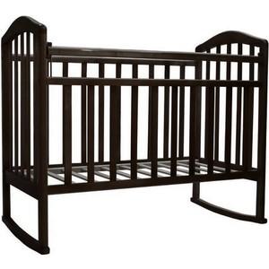 Кроватка Антел Алита-2 колесо/качалка венге