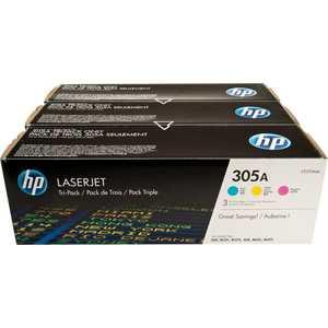 лучшая цена Картридж HP № 305A combo (CF370AM)