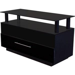 Тумба под телевизор Allegri Бриз 2 800 черный глянец каркас черный стекло черное тумба под телевизор allegri бриз 2 1250 черный глянец каркас черный стекло черн