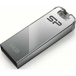 Фото - Флеш-диск Silicon Power 64Gb Touch T03 серебристый (SP064GBUF2T03V1F) флеш диск verbatim 64gb v3 max hi speed синий 49807