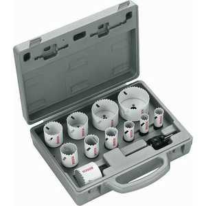 Набор коронок пильных Bosch 19-76мм 11шт Progressor for Wood and Metal (2.608.584.667) набор пильных полотен bosch t123 x hss