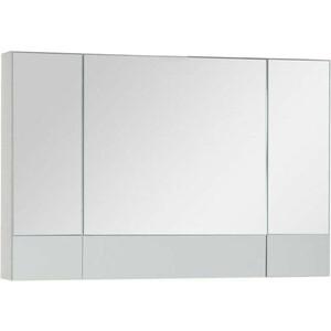 Зеркальный шкаф Aquanet Верона 100 белый (175383)