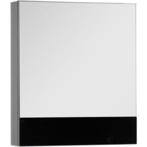Зеркальный шкаф Aquanet Верона 58 черный (175384)