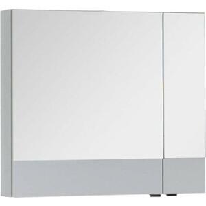 Зеркальный шкаф Aquanet Верона 75 белый (175381) шкаф с 2 дверками из массива сосны nottingham