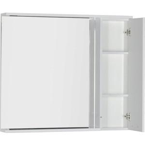 Зеркало-шкаф Aquanet Доминика 100 LED цвет бел (171922) шкаф доминика 450