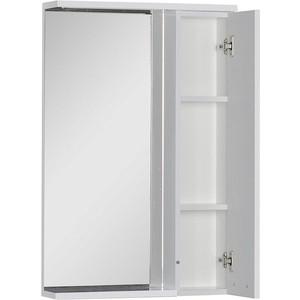 Зеркало-шкаф Aquanet Доминика 55 LED цвет бел (171079)
