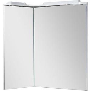 Зеркало Aquanet Корнер L 88 белое (158820)