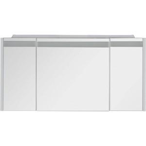 Зеркальный шкаф Aquanet Лайн 120 белый (164935)
