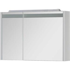 Зеркальный шкаф Aquanet Лайн 90 R белый (164934) шкаф с 2 дверками из массива сосны nottingham