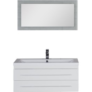 Мебель для ванной Aquanet Нота Лайт 100 белый