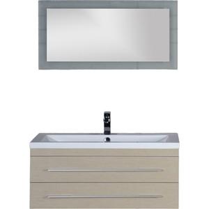 Мебель для ванной Aquanet Нота Лайт 100 светлый дуб