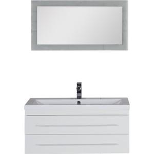 Мебель для ванной Aquanet Нота Лайт 90 белый комплект мебели aquanet нота 90 лайт цвет венге