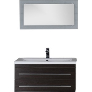 Мебель для ванной Aquanet Нота Лайт 90 венге комплект мебели aquanet нота 90 лайт цвет венге