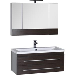 Мебель для ванной Aquanet Нота 100 венге