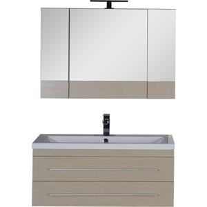 Мебель для ванной Aquanet Нота 100 светлый дуб