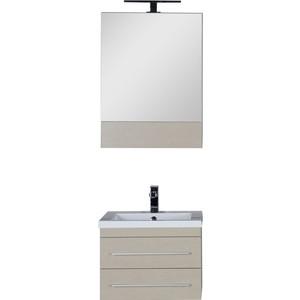 Мебель для ванной Aquanet Нота 58 светлый дуб