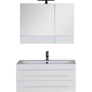 Мебель для ванной Aquanet Нота 90 белый карниз универсальный euroshowers 90 х 90 х 90 см цвет хром