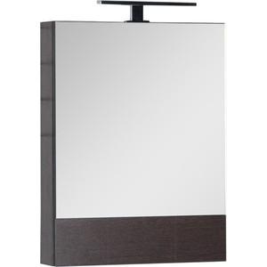 Зеркальный шкаф Aquanet Нота 50 венге (172682) цена