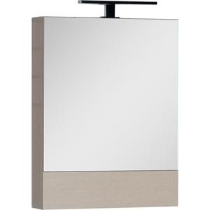 Зеркальный шкаф Aquanet Нота 50 светлый дуб (172681) встраиваемый холодильник bosch kir41af20r