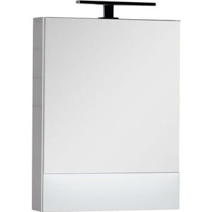 Зеркальный шкаф Aquanet Нота 58 белый (165370)