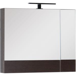 Зеркальный шкаф Aquanet Нота 75 венге (159109) цена