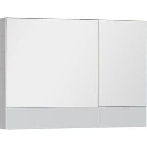 Зеркальный шкаф Aquanet Нота 90 белый (165371)