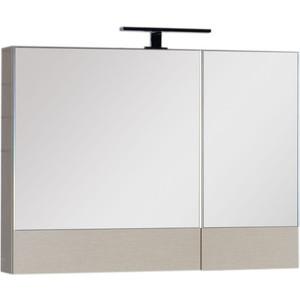 Зеркальный шкаф Aquanet Нота 90 светлый дуб (158858) цена