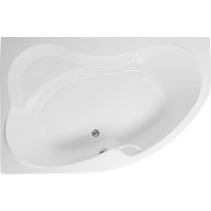 Акриловая ванна Aquanet Capri 170x110 L левая, с каркасом, без гидромассажа (205345) акриловая ванна aquanet sofia 170х100 l левая с каркасом без гидромассажа 205391