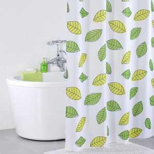 Штора для ванной IDDIS Bean Leaf 200х240 см (200P24RI11) плед корона 200х240 см лайм