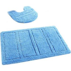 Коврики для ванной и туалета IDDIS Blue Landscape 60x90 50x50 см, микрофибра (241M590i13)