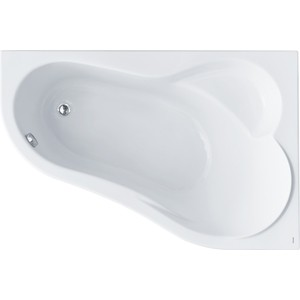 Акриловая ванна Santek Ибица 150х100 см, правая (1WH112035) акриловая ванна santek эдера 170х110 см правая без монтажного комплекта 1wh111994