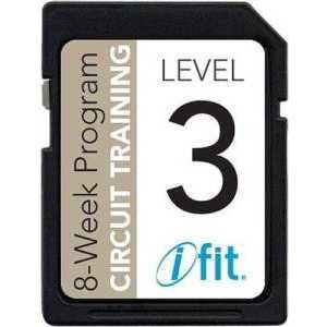 Программа для тренажера Icon SD Card Circuit Training L3 на выносливость