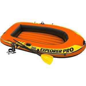 Надувная лодка Intex Explorer Pro 300 до 200 кг (58358)/59623 цена