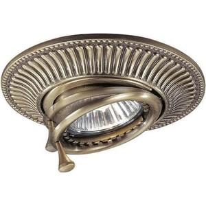 Точечный поворотный светильник Reccagni Angelo SPOT 1082 bronzo