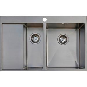 Кухонная мойка Seaman Eco Marino SMB-7851DLS.A кухонная мойка seaman eco marino smb 7851rs a