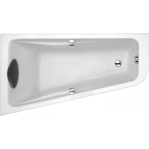 Акриловая ванна Jacob Delafon Odeon Up асимметричная 160x90 L, левая (E6065RU-00) акриловая ванна 140х140 jacob delafon odeon up e6070ru 00
