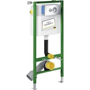 Инсталляция для унитаза Viega Eco Standard Set 3 в 1 606688 с кнопкой 596323 с уголками (713386) инсталляция для подвесного унитаза viega eco wc 713386 596323 460440