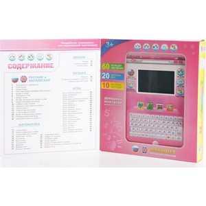 Play Smart Компьютер планшет розовый 60 функций 7396