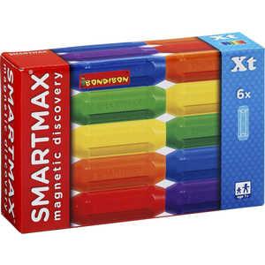 Bondibon Магнитный конструктор SmartMax Дополнительный (Xt) набор: 6 коротких палочек 102 цена