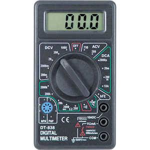 Мультиметр TEK DT 838 мультиметр цифровой tek dt9208a цифровой
