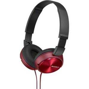 Наушники Sony MDR-ZX310 red наушники sony mdr zx310 red