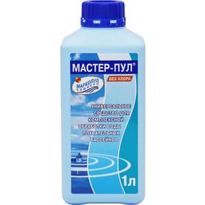 Средство для чистки бассейнов Маркопул Кэмиклс М20 Мастер-пул 1 л 4 в 1 цена и фото