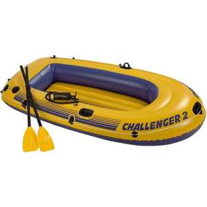 Надувная лодка Intex Challenger 2 (68367/68367NP)