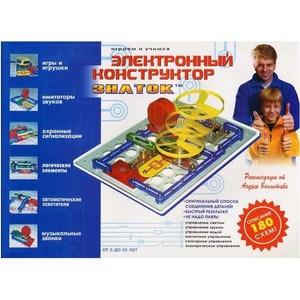 Электронный конструктор ЗНАТОК Знаток 180 схем 180- (70085)